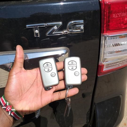 Landcruiser Prado key duplication and replacement in Nairobi Kenya